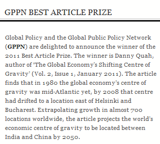 GPPN Best Article Prize